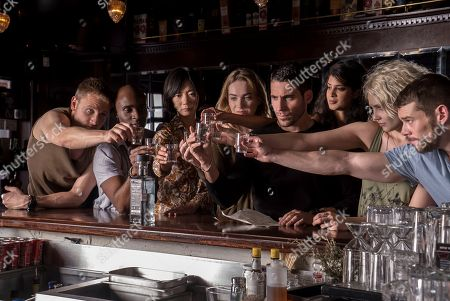 Max Riemelt, Toby Onwumere, Bae Doona, Jamie Clayton, Miguel Angel Silvestre, Tina Desai, Tuppence Middleton, Brian J Smith