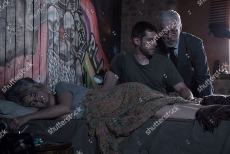 Stock Image of Tuppence Middleton, Brian J. Smith, Terrence Mann