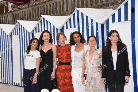 Women of jury Gerladine Nakache, Olga Kurylenko, Pascale Arbillot, Karine Silla-Perez, Camille Chamoux and Elodie Bouchez