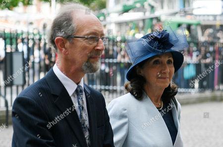 Stock Photo of Jane Hawking and Hellyer Jones