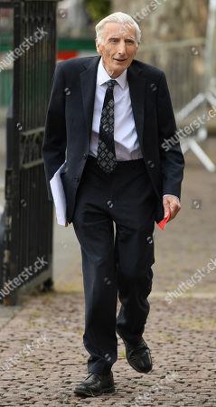 Editorial image of Professor Stephen Hawking Memorial at Westminster Abbey, London, United Kingdom - 15 Jun 2018