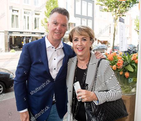 Louis van Gaal and his wife Truus