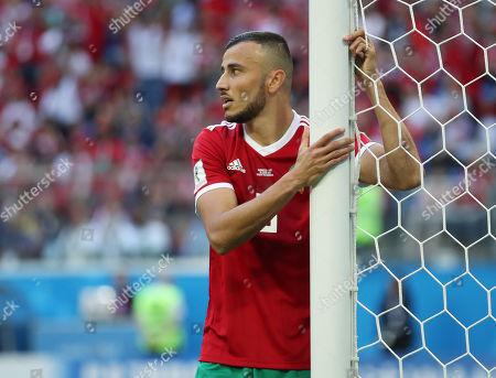 Stock Photo of Ayoub El Kaabi of Morocco