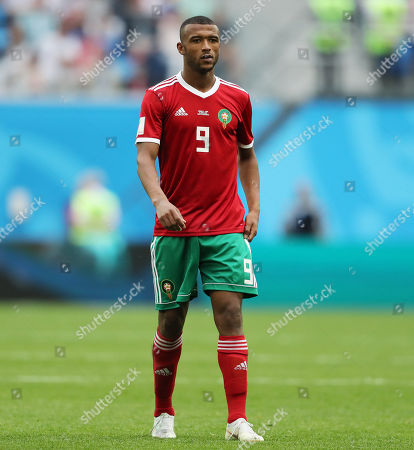 Stock Picture of Ayoub El Kaabi of Morocco