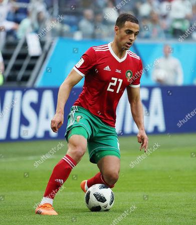 Sofyan Amrabat of Morocco