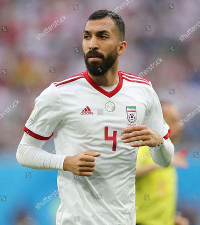 Editorial picture of Morocco v Iran, Group B, 2018 FIFA World Cup football match, Saint Petersburg Stadium, Russia - 15 Jun 2018