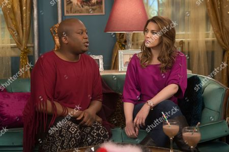Stock Picture of Tituss Burgess, Sara Chase