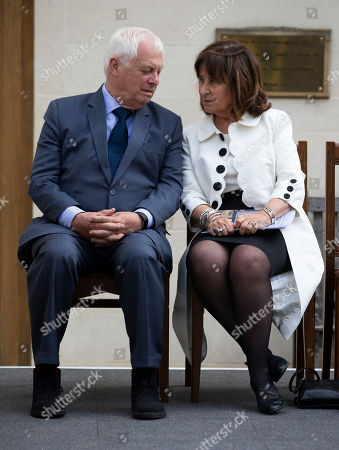The Rt Hon the Lord Patten of Barnes, Chancellor of Oxford University and  Baroness Helena Kennedy QC, Principle of Mansfield College