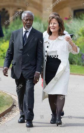 Kofi Annan and Baroness Helena Kennedy QC, Principle of Mansfield College