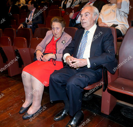 Princess Margarita Borbon, Duke of Soria attends closing ceremony of academic year of 'Escuela Superior de Musica Reina Sofia' at the Reina Sofia Museum