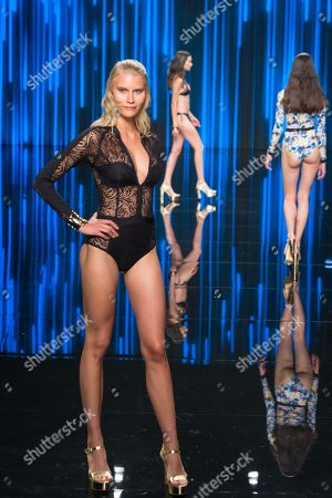 Editorial image of Dolores Cortes show, Runway, Gran Canaria Swimwear fashion week, Gran Canaria Island, Spain - 15 Jun 2018