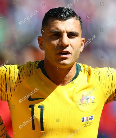 Andrew Nabbout of Australia