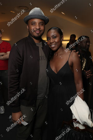Filmmaker Justin Simien and Nia Jervier