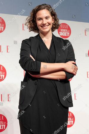 British-Swiss model and actress Emma Ferrer
