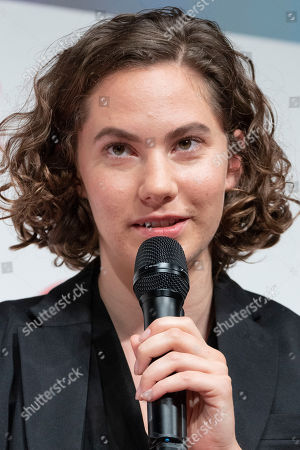 British-Swiss model and actress Emma Ferrer speaks