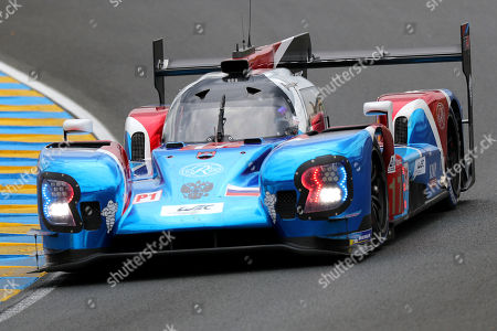 SMP Racing (starting no.17) in a BR engineering BR1 AER with Stephane Sarrazin of France, Egor Orudzhev of Russia and Matevoss Isaakyan of Russia during the Le Mans 24 Hours race in Le Mans, France, 16 June 2018. The race is scheduled to finish at 3pm on the 17 June.