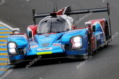 SMP Racing (starting no.11) in a BR engineering BR1 AER with Vitaly Petrov of Russia, Mikhail Aleshin of Russia and Jenson Button of Great Britain during the Le Mans 24 Hours race in Le Mans, France, 16 June 2018. The race is scheduled to finish at 3pm on the 17 June.