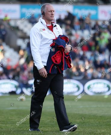Richard Hill (Team Manager) of England during the 2018 Castle Lager Incoming Series 2nd Test match between South Africa and England at the Toyota Stadium.Bloemfontein,South Africa. 16,06,2018 Photo by (Steve Haag JMP)