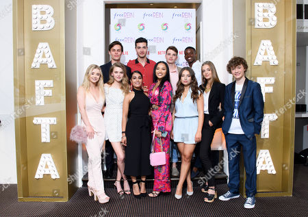 Kerry Ingram, Carla Woodcock, Manpreet Bambra, Jaylen Barron, Charlotte Jordan, Celine Buckens, Billy Angel, Freddy Carter, Bruce Herbelin-Earl, Joe Ashman and Martin Bobb-Semple