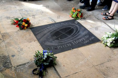 A Service of Thanksgiving for Professor Stephen Hawking CH CBE FRS FRSA was held at Westminster Abbey, London, where he was interned infront of Issac Newton and next to fellow scientists. The Service was led by The Dean of Westminster, The Very Reverend Dr John Hall.