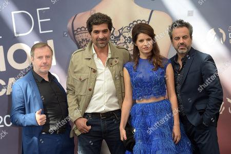 Vincent Primault, Abdelhafid Metalsi, Aurore Erguy, Francois Bureloup