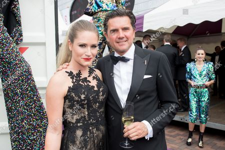 Nikkie Plessen and partner Ruben Bontekoe