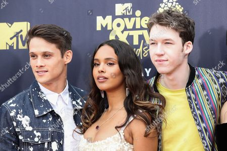 Timothy Granaderos, Alisha Boe and Devin Druid