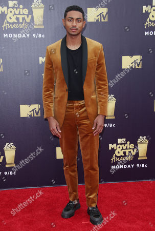 Editorial photo of MTV Movie & TV Awards, Los Angeles, USA - 16 Jun 2018
