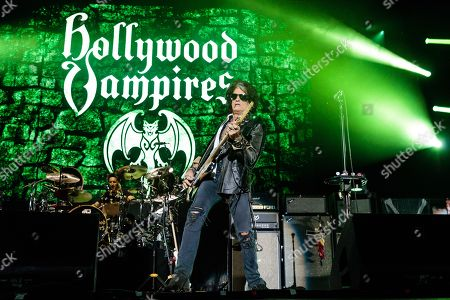 Editorial photo of The Hollywood Vampires in concert at the Genting Arena, Birmingham, UK - 16 Jun 2018
