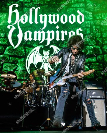 Stock Picture of Hollywood Vampires - Joe Perry