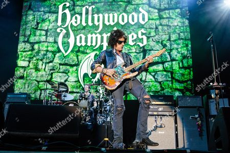Editorial picture of The Hollywood Vampires in concert at the Genting Arena, Birmingham, UK - 16 Jun 2018