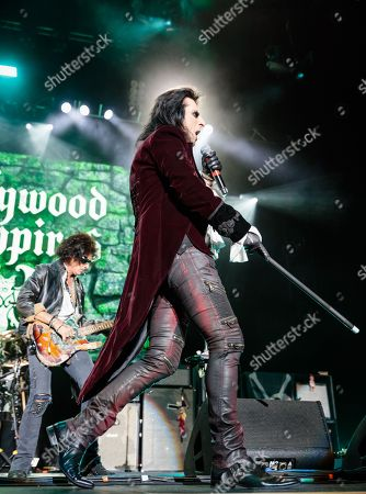 Stock Photo of Hollywood Vampires - Joe Perry, Alice Cooper