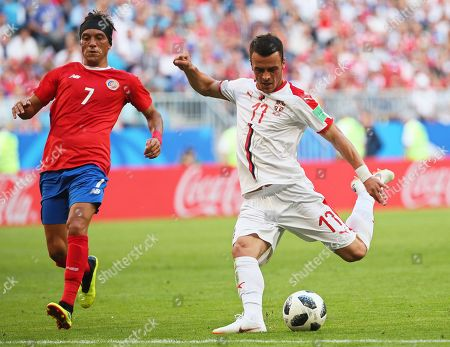 Filip Kostic and Christian Bolanos