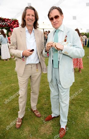 Stock Photo of Pierre Lagrange and Nick Foulkes