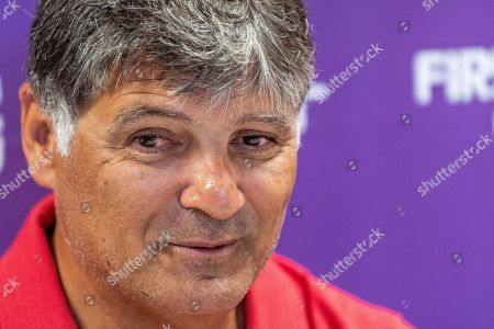 Uncle and former coach of Spanish player Rafa Nadal, Toni Nadal, current Mallorca Open Tournament Director attends the opening of the tennis tournament in Santa Ponsa, Mallorca, Spain, 17 June 2018. The Mallorca Open WTA Tournament will be held from 17 to 24 June 2018.