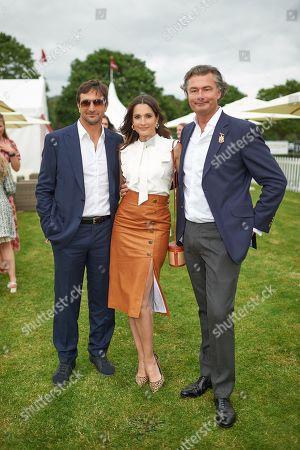 Stock Picture of Astrid Munoz, Eduardo Novillo Astrada and Laurent Feniou
