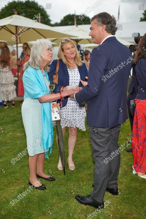 Stock Photo of Jilly Cooper and Edwina Cooper
