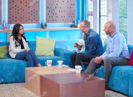 Amy-Leigh Hickman, Tim Lovejoy and Simon Rimmer
