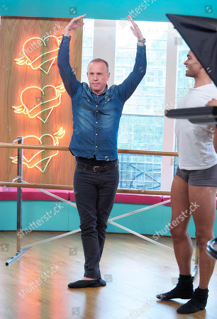 Stock Picture of Tim Lovejoy with Brandon Lawrence