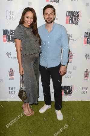 Stock Picture of Amber Stevens West and Andrew J. West