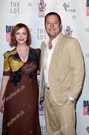 Christina Hendricks and Michael Gladis