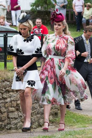 Lady Kitty Spencer (red hat)