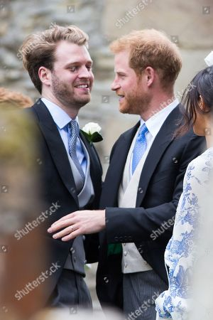 Stock Picture of Viscount Althorp, Prince Harry