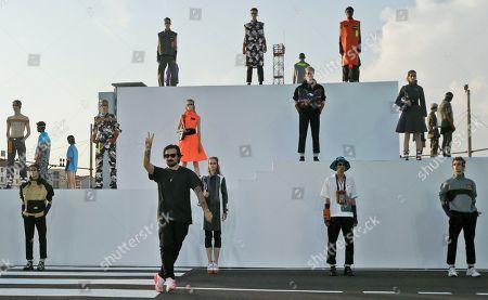 Editorial image of Fashion Palm Angels, Milan, Italy - 17 Jun 2018