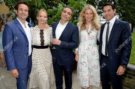 Stock Picture of Matt Hermer, Marissa Hermer, Tarek Khlat, Ika Green and Alexander Green