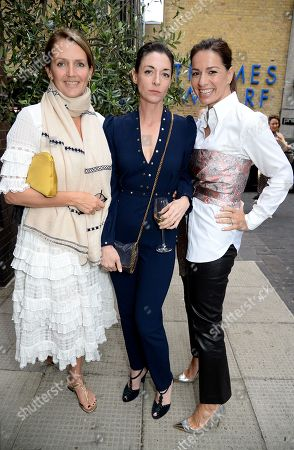 Saffron Aldridge, Mary McCartney and Yana Peel