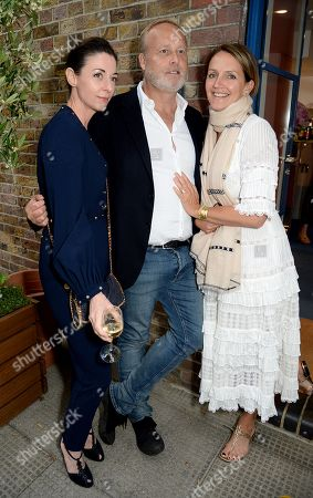 Mary McCartne, Ian Wace and Saffron Aldridge