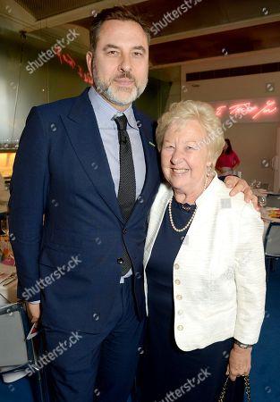 David Walliams and Kathleen Williams