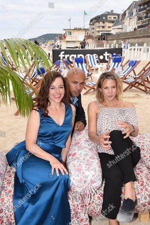 Eric Judor, Laure Calamy and Marie Kremer