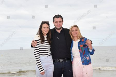 Stacy Martin, Karim Leklou and Marie Monge